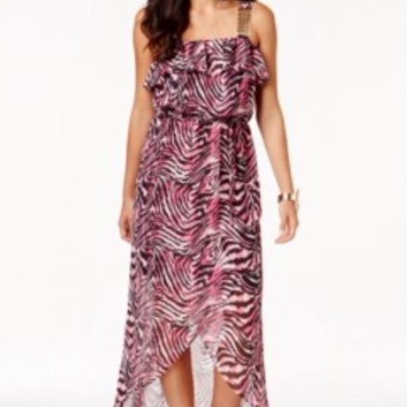 Thalia Sodi Dresses & Skirts - New Thalia Sodi resort maxi animal print dress